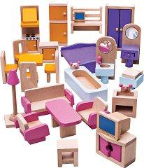 Мебели за куклена къща -
