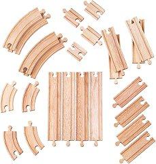 Дървени релси -