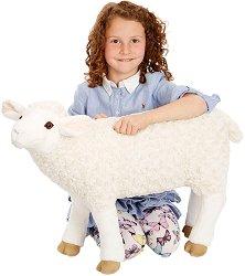 Овца - Плюшена играчка с дължина 69 cm -