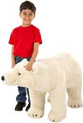 Полярна мечка - Плюшена играчка с височина 87 cm -