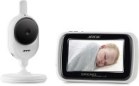 Дигитален видео бебефон - Sincro Digital Plus - С температурен датчик, нощно виждане и възможност за обратна връзка -