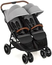 Бебешка количка за близнаци - Twinlink - С 4 колела -