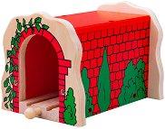 Тухлен тунел - Детска дървена играчка -