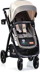 Бебешка количка 2 в 1 - Stefanie - С 4 колела -