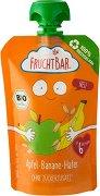 FruchtBar - Био пюре с ябълка, банан и овес - пюре