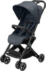 Комбинирана бебешка количка - Lara2: Essential Graphite - С 4 колела -