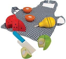 Плодове за рязане - Детски готварски комплект -