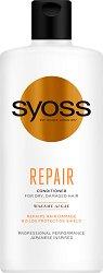 """Syoss Repair Conditioner - Възстановяващ балсам за суха и увредена коса от серията """"Repair"""" - продукт"""