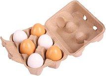 Яйца за игра - Комплект от 6 броя в кутия -