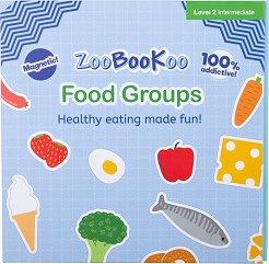 Магнитна книжка - Хранителни групи - играчка