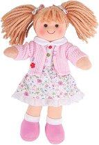 Поли - Парцалена кукла с височина 28 cm - творчески комплект