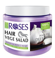 Nature of Agiva Roses Vege Salad Mask Hairfall Defense - Възстановяваща маска против косопад за тънка коса - крем