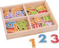 Магнитни знаци и цифри - играчка