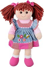 Мелъди - Парцалена кукла с височина 34 cm -