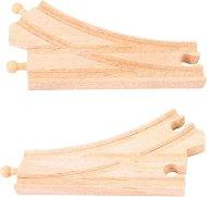 Дървени релси - Криви -