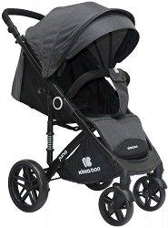 Лятна бебешка количка - Juno - С 4 колела -
