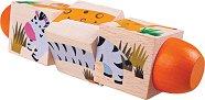 Въртящи кубчета - В джунглата - творчески комплект