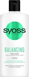Syoss Balancing Conditioner - Балансиращ балсам за всеки тип коса и скалп - тоник
