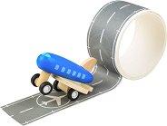 Самолетна писта - Комплект за игра с аксесоари - творчески комплект