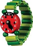 Дървен часовник - гривна - Детски аксесоар -