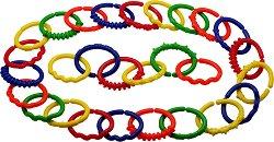 Многоцветна верига - Детски образователен комплект от 288 части -