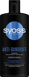 Syoss Anti-Dandruff Shampoo - Шампоан против пърхот с екстракт от азиатска центела -
