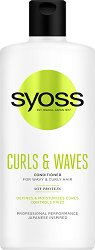 Syoss Curls & Waves Conditioner - Балсам за къдрава коса - маска