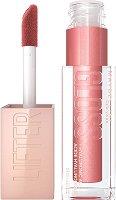 Maybelline Lifter Gloss Lip Gloss - Хидратиращ гланц за обемни и плътни устни с хиалуронова киселина - крем