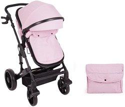 Комбинирана бебешка количка - Darling - С 4 колела -