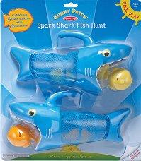 Ловуващи акули - Комплект играчки за баня -