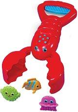 Рак ловец - Детски комплект за игра -