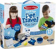 На пътешествие с домашен любимец - Детски комплект за игра -