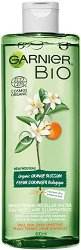 "Garnier Bio Orange Blossom Micellar Cleansing Water - Био мицеларна вода с портокалов цвят от серията ""Garnier Bio"" - балсам"