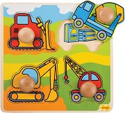 Моят първи пъзел - Строителни машини - пъзел