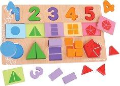 Числа и форми - играчка