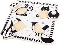 Животни в черно и бяло -