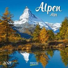Стенен календар - Alpen 2021 -
