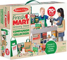 На пазар - Детски комплект за игра -