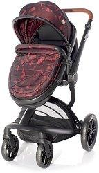 Бебешка количка 2 в 1 - Lumina Set 2020 - С 4 колела -