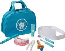 Малкият зъболекар - Детски комплект за игра с аксесоари -
