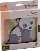 """Панда - Дървен пъзел от серията """"Диви животни"""" -"""