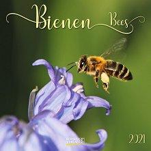 Стенен календар - Bienen 2021 -