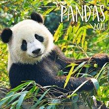 Стенен календар - Pandas 2021 -