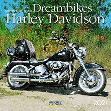 Стенен календар - Dreambikes: Harley-Davidson 2021 -