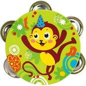 Тамбурина - Маймунка - играчка