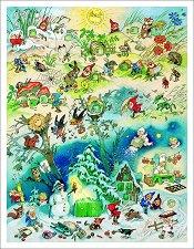 Адвент календар - Четири сезона -