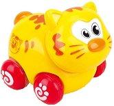 Коте - Детска играчка с колелца -