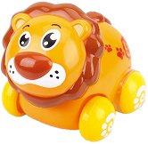 Лъв - Детска играчка с колелца -