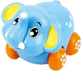 Слонче - Детска играчка с колелца -