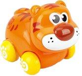 Тигър - Детска играчка с колелца -